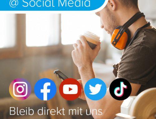 Social Media Kanäle erweitert