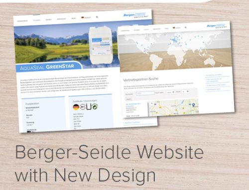 www.berger-seidle.de – Berger Seidle Website with New Design and New Features