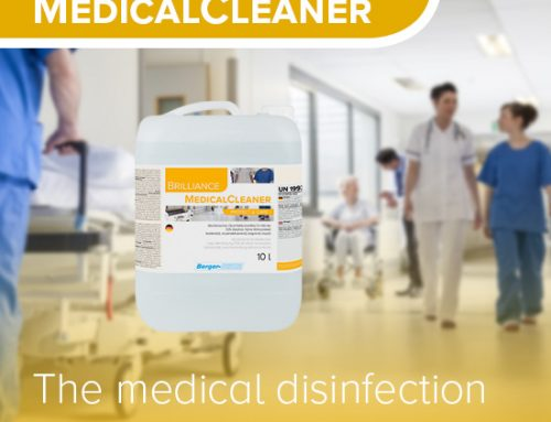 The medical disinfection liquid with high effectivity