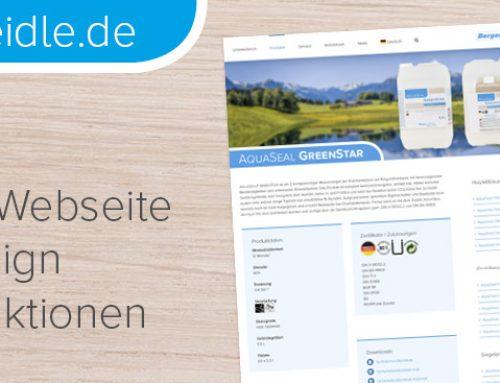 www.berger-seidle.de – Berger-Seidle-Website mit neuem Design und neuen Funktionen