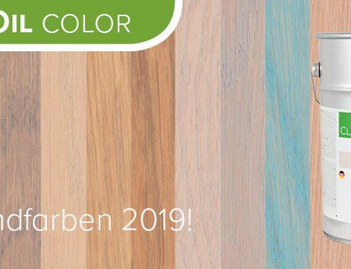 Classic BaseOil Color – Die neuen Trendfarben 2019