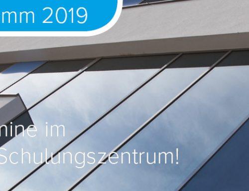 Seminarprogramm 2019 – Die neuen Termine im Berger-Seidle Schulungszentrum