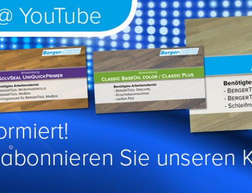 Berger-Seidle @ YouTube!